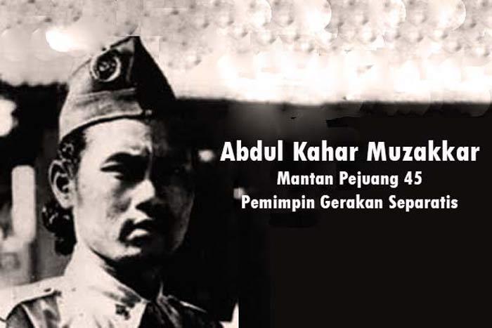Abdul Kahar Muzakkar, Pejuang 45, Pemimpin Gerakan Separatis