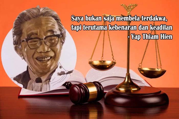 Yap Thiam Hien, Advokat dan Penegak HAM