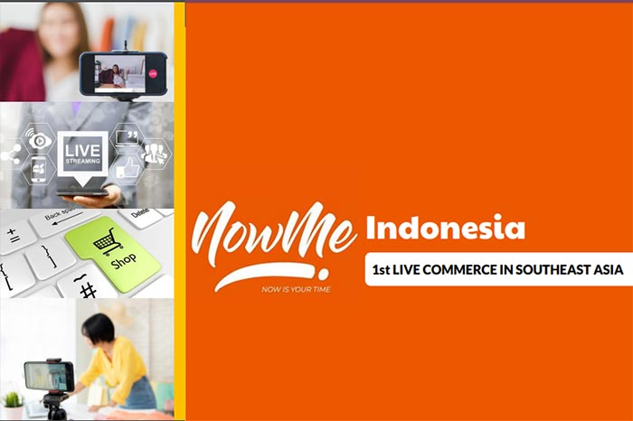 NOWME Live Commerce Hadir di Indonesia