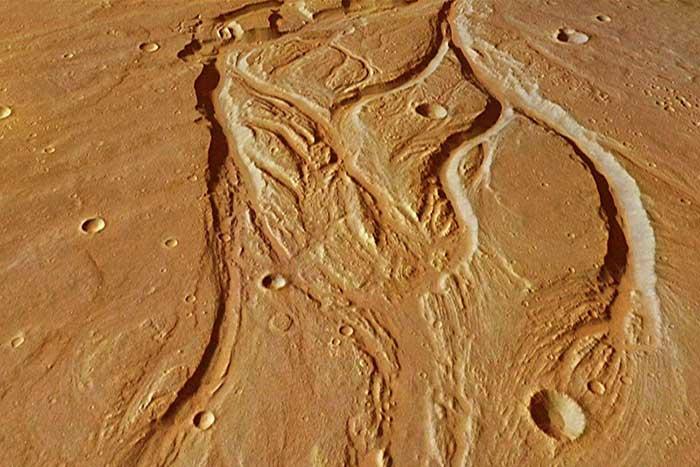 bukti adanya kehidupan di planet mars